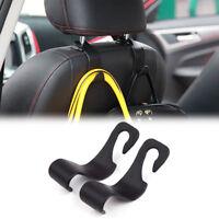 Universal Car Auto Suv Back Seat Hook Hanger Bag Coat Purse Organizer Holder