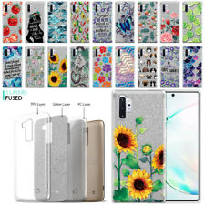 For Samsung Galaxy Note 10+/10 Plus 6.8 2019 Slim Sparkle Silver TPU Case Cover