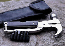 Fashion Outdoor Multi-Function Claw hammer Camping Emergency Survival Tools New