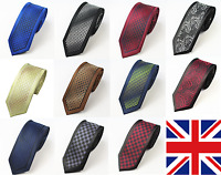 Hand Made Premium Woven black ribbon frame Paisley Jacquard Tie Wedding Event UK