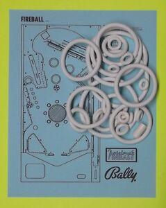 1972 Bally Fireball pinball rubber ring kit