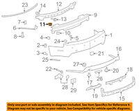 GM OEM Rear Bumper-Trim Cover Nut 11612236