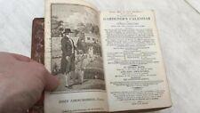 Antique Gardening book dated 1805