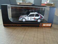 HPI-RACING 1/43 LANCIA DELTA S4 M. ALEN  WINNER OLYMPUS RALLY 1986 N°8637 RARE !