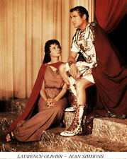 Jean Simmons, Laurence Olivier - Spartacus (1960)  -  8 1/2 X 11