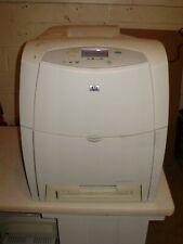 (Will Need Refurb) HP COLOR LASERJET 4600 COLOR LASER PRINTER  TONER/SUPPLIES