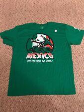 "2014 FIFA World Cup Brazil ""Mexico"" Shirt Size 2XL"
