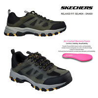 Skechers Mens Selmen Enago Outdoor Hiking Memory Foam Waterproof Relaxed Trainer