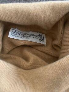 The Scotch House 100% Cashmere Turtle Neck Sweater Vintage Women's Sz Small