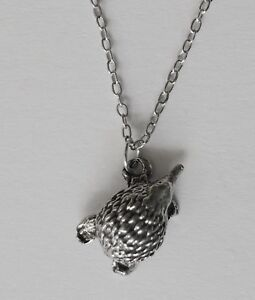 Chain Necklace #294 Pewter ECHIDNA (16mm x 10mm) Aussie Animal pendant