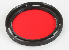 """HYCON CLASS III RED FILTER, PART NO. 120769-3A, 3-PIN MOUNT ~4""""/177034"""