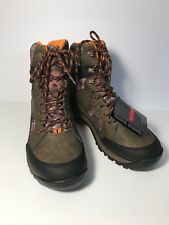 """Wolverine Mossy Oak 7"""" Camo Waterproof Insulated Mens Hunting Boots US 13 EUR 46"""