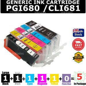 5x 680 681 XXL Ink For Canon PIXMA TR7560 TR8560 TS6100 TS6160 TS6260 TS-6360