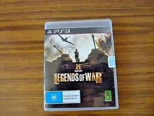 History: Legends Of War  PS3 Game NEW