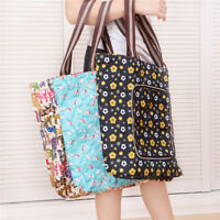 Colorful Foldable Shopping Bags Reusable Eco Oxford Cloth Storage Tote Handbag S