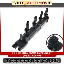 Ignition Coils for Citroen C4 C5 Xsara Picasso Peugeot 206 307 406 407 1.8L 2.0L