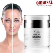 Organic Retinol Moisturizing Face Cream Vitamin E Whitening Anti Aging Wrinkles
