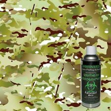 HYDROGRAPHIC FILM WATER TRANSFER HYDRO DIP 6OZ. ACTIVATOR W/ ARMY CAMO KIT