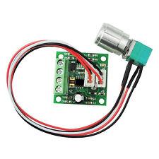 1.8V 3V 5V 6V 7.2V 12V 2A 30W DC Motor Driver Speed Controller PWM Switch