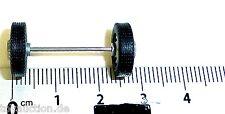 100 x Radsatz 27mm Achsbreite silber Felge Plastik Herpa Albedo 1:87 R255 å
