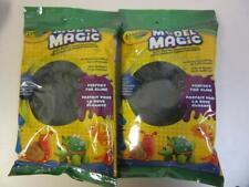 Black Model Magic Crayola 4 oz Modeling Clay Soft Material Art Craft 2 Pack