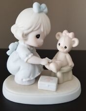 """""""Caring"""" precious moments figurine 94 members only"""