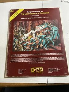 Advanced Dungeons & Dragons Module - S4 The Lost Caverns of Tsojcanth (9061)