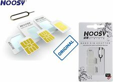NOOSY originale ® NANO SIM E MICRO SIM ADATTATORE – completamente 3er-set + Eject Pin 💚