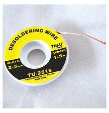1PCS 5ft 2.5mm Desoldering Braid Solder Remover Wick TNI-U