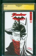 Batman Shadow 4 CGC SS 9.8 Original art sketch Variant Patterson new Movie 1/17
