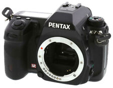 Pentax K-7 14.6MP digital SLR camera body *black *superb *warranty