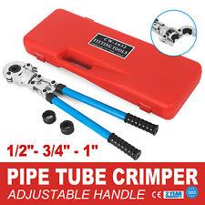 Copper Pipe Press & Pex Crimp Tool - Elkhart Conex Viega Propress Nibco Propres