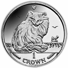 Isle of Man 1995 Turkish Cat Unc. CuNi Coin