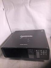 Panasonic PT-DZ680 Projector DLP WUXGA 6000 Lumens - works great NO REMOTE
