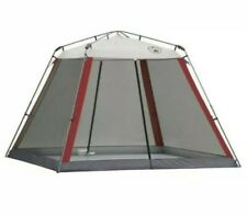 Coleman 10'x10' Instant Screen house Canopy Shade Tent-Beach Camping Tailgating