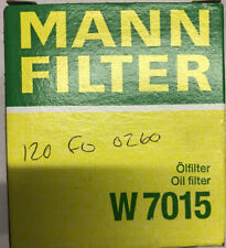Mann Hummel OE Quality Replacement Engine Oil Filter W 7015