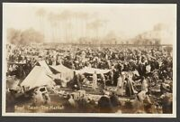 Postcard Egypt Africa the Market in Cairo RP
