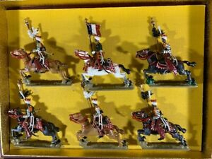 LUCOTTE Vintage Lead Toy Soldier NAPOLEONIC MAMELUKES  MINT TIED IN BOX Mignot