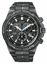 New Mens Citizen Eco-Drive BL5435-58E Perpetual Calendar Alarm Chronograph Watch