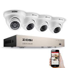 ZOSI 8CH 720P DVR Vidéo Enregistreur 1280TVL Caméra Dôme Extérieur Système CCTV