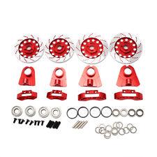 New Brake Disc Kit Set Red for 1/10 RC Touring Car [LT52000r]
