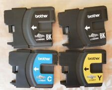 More details for brother lc980 innobella ink cartridges empty black yellow blue