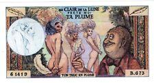 PUBLICITé ADVERTISING VOLTAIRE EROTIQUE au Clair de la Lune PRETE-MOI TA PLUME