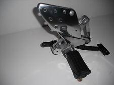 Xgjao SJ125-23 / 26 Right Footpeg Footrest Rear Brake Lever Silver Alloy Finish