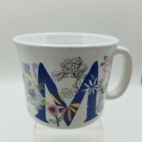 Nantucket Home Fancy Floral Coffee Cup