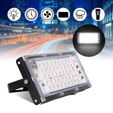 50W 230V LED Fluter Flutlicht Ultradünn IP66 Aussen Strahler Wandlampe