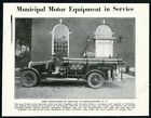 1925 Germantown New York Childs fire engine truck photo vintage print article