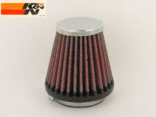 New K&N Unversal Chrome AIR POD FILTER 2 inch x 3 inch