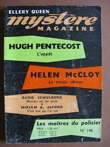 MYSTERE-MAGAZINE  n° 146 (1960)