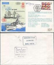 C70b To London by Ship 1980 Signed by Lt Graney Similar to Standard Cover